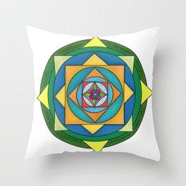 skyflower 6 Throw Pillow