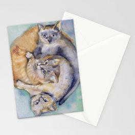Cuddle Cats Stationery Cards