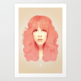 Stevie Nicks Art Print