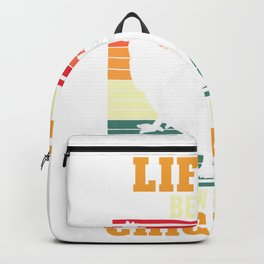 Life Is Better With Chickens Chicken Lover Farm Gift Backpack