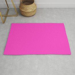 Bright neon pink color Rug