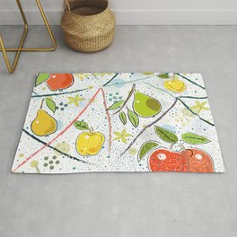 Apples and Pears Rug