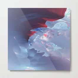 Below the cold surface Metal Print
