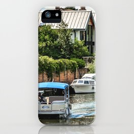 On The Avon At Tewkesbury iPhone Case