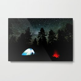 Peace Under the Stars Metal Print