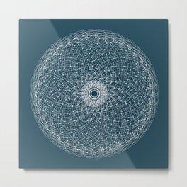 Ornament – Blossomsphere Metal Print