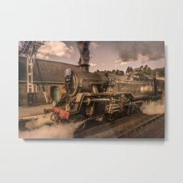 Whitby Express Metal Print