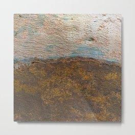 Eucalyptus Tree Bark and Wood Texture 22 Metal Print
