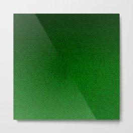 Emerald Green Ombre Design Metal Print