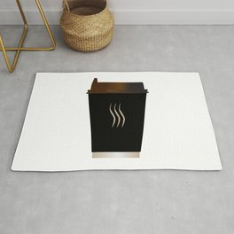 Paper Coffee Cup Rug