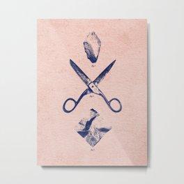 PLAY / Rock Scissors Paper Metal Print