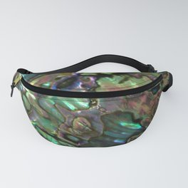 Oil Slick Abalone Mother Of Pearl Fanny Pack