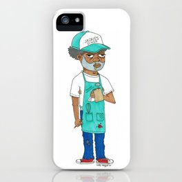 Waiter Ed From Jackie's Diner iPhone Case