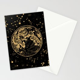 Into The Galaxy Stationery Cards