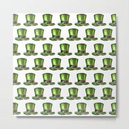 Saint Patrick's Day Leprechaun Hats Metal Print