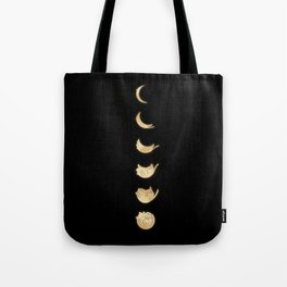 Cat Landscape 57: Phases of the Meow Tote Bag