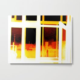 The Morning After (Food Poisoning)  Metal Print