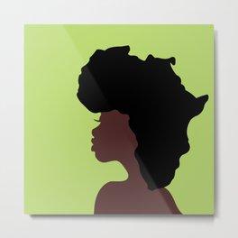 Naturally Africa Metal Print