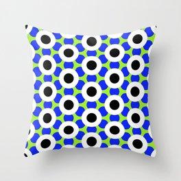 Modern Times 2.0 Pattern - Design No. 8 Throw Pillow