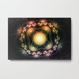 Abstract Fractal Art 3 Metal Print