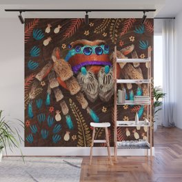 Jumping Spider Wall Mural