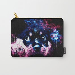 rottweiler puppy dog ws c80 Carry-All Pouch