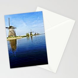 Windmills Holland Stationery Cards