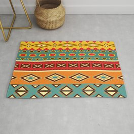Barefooted in sarong Rug