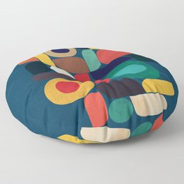 Miles and miles Floor Pillow