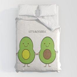 Let's avocuddle Comforters