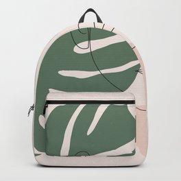 Tropical Woman Backpack