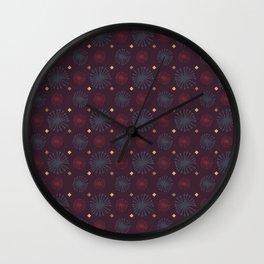 Flor Tostada Wall Clock