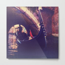 """""""Venice is like eating an entire box of chocolate liqueurs in one go.""""  ― Truman Capote Metal Print"""