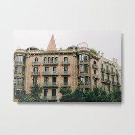 Barcelona Architecture Metal Print