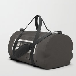 Cassette Tape Black And White #decor #society6 #buyart Duffle Bag