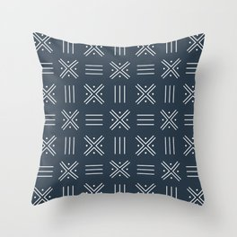 Simple African tribal pattern 4 Throw Pillow