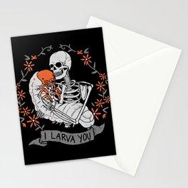 I Larva You Stationery Cards