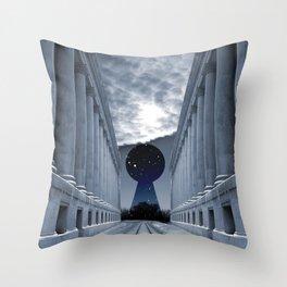 Keyhole to Infinity Throw Pillow