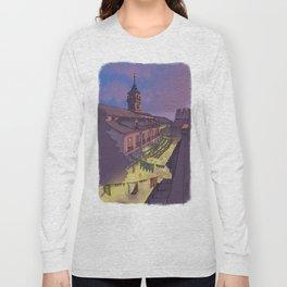 Medieval Fair (color) Long Sleeve T-shirt