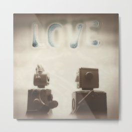 Love is Best When It Isn't Perfect Metal Print