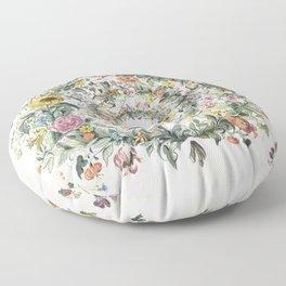 Circle of Life Cream Floor Pillow