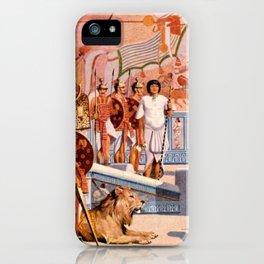 "Classical Masterpiece ""Egyptian Ramesses II Throne Room"" by Herbert Herget iPhone Case"