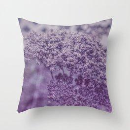 Sedum in Winter Throw Pillow