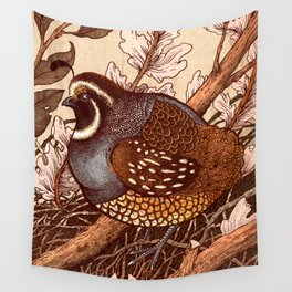 Little Quail Wall Tapestry