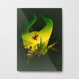 Enchanted Sleep Metal Print