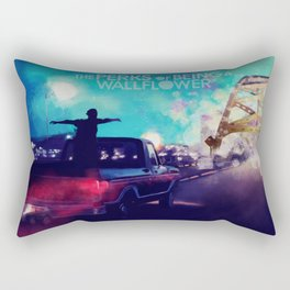 the perks of being a wallflower poster Rectangular Pillow
