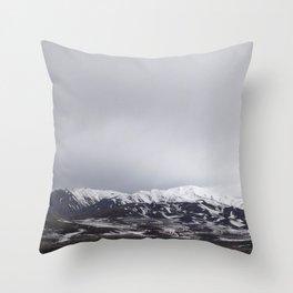 Winter Soulstice Throw Pillow