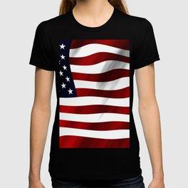 American Flag USA T-shirt