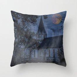 Mystery of Blaubeueren Throw Pillow