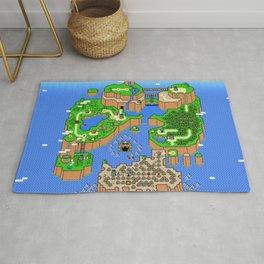 The World of Super Mario Rug